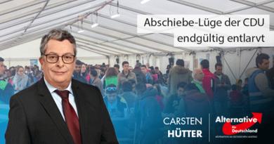 Abschiebe-Lüge der CDU endgültig entlarvt