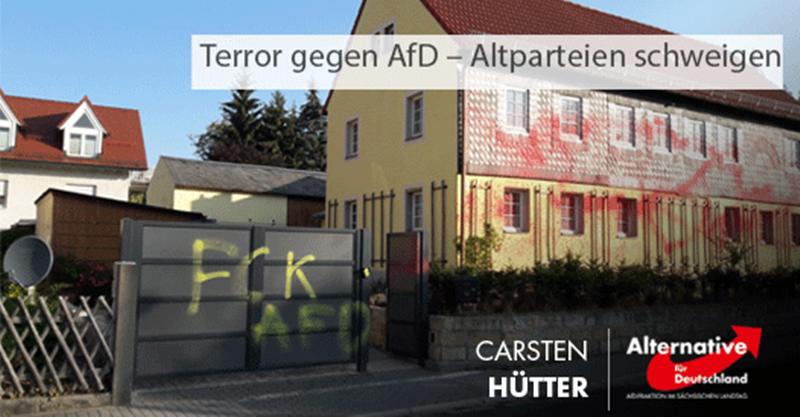 Terror gegen AfD – Altparteien schweigen