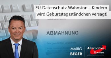 EU-Datenschutz-Wahnsinn – Kindern wird Geburtstagsständchen versagt!