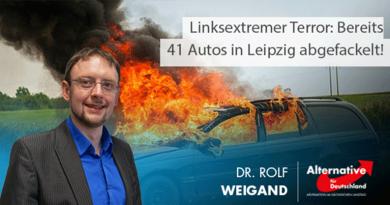 Linksextremer Terror immer schlimmer: Bereits 41 Autos in Leipzig abgefackelt!