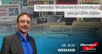 Chemnitz: Medienberichterstattung wie zu DDR-Zeiten