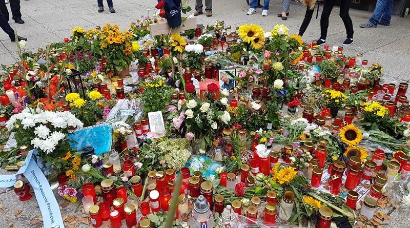 Chemnitz, Trauermarsch, Bild: AfD