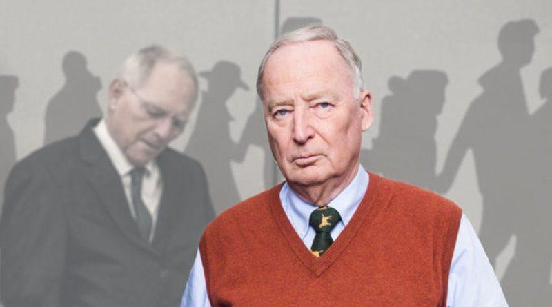 Schäuble beleidigt rechtstreue Bürger mit Interview zu Bleiberecht und Integration