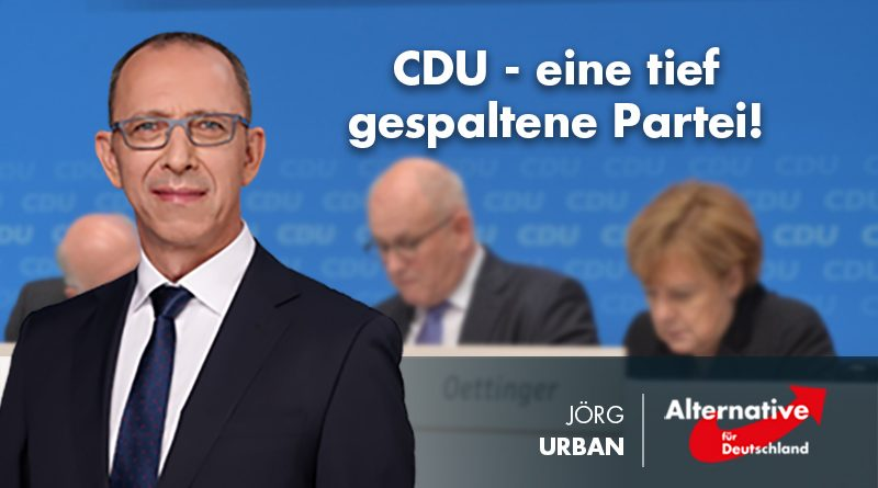 CDU, eine tief gespaltene Partei