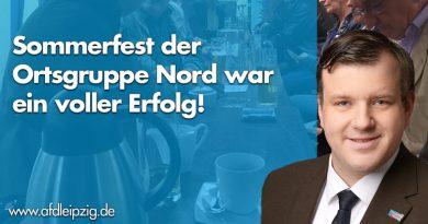 Viel Zuspruch beim Sommerfest der AfD Leipzig!