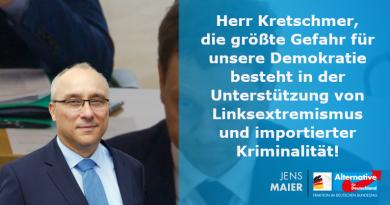 In Chemnitz mordet ein Merkel-Gast und Kretschmer spricht von rechtsextremen Gefahren