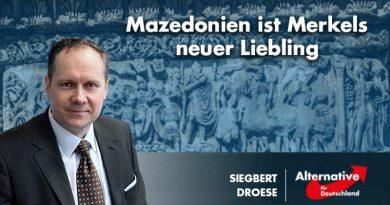Mazedonien ist Merkels neuer Liebling