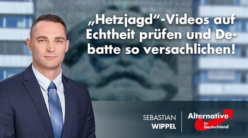 """""""Hetzjagd""""-Videos auf Echtheit prüfen und Debatte so versachlichen!"""