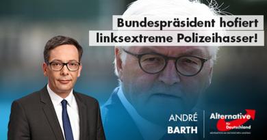Bundespräsident hofiert linksextreme Polizeihasser!