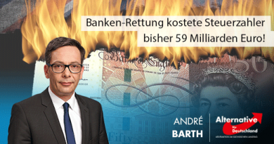 Banken-Rettung kostete Steuerzahler bisher 59 Milliarden Euro!