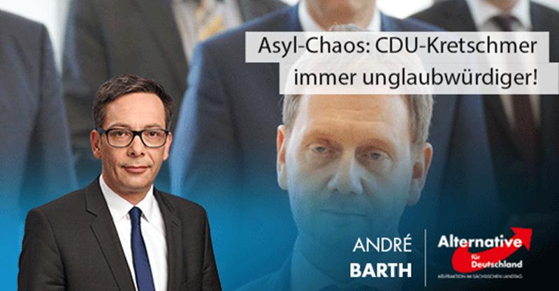 Asyl-Chaos: CDU-Kretschmer immer unglaubwürdiger