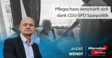 Pflegechaos verschärft sich dank CDU-SPD Sparpolitik