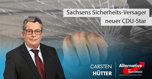 Sachsens Sicherheits-Versager neuer CDU-Star