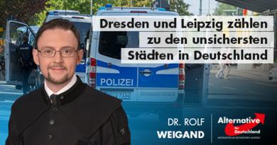 Dresden und Leipzig zählen zu den unsichersten Städten in Deutschland