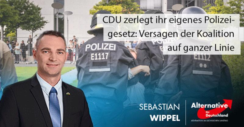 Wöller zerlegt sein eigenes Polizeigesetz: Versagen der Koalition auf ganzer Linie