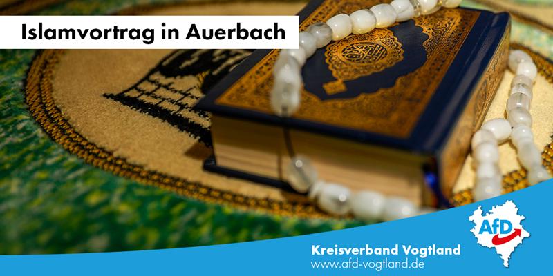 Islamvortrag der AfD in Auerbach