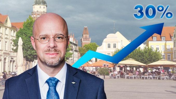 Sonntagsfrage: AfD liegt in Cottbus bei 30 Prozent