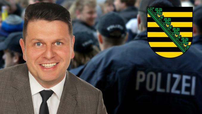 Die sächsische Polizei ist nicht blind auf dem rechten Auge