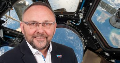 Live-Schalte mit Alexander Gerst beim International Astronautical Congress