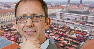 Dresdens Merkel-Poller sollen mit Tannen verschönert werden