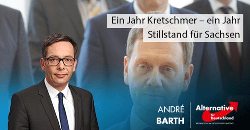Ein Jahr Kretschmer – ein Jahr Stillstand für Sachsen