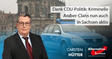 Dank CDU-Politik: Kriminelle Araber-Clans nun auch in Sachsen aktiv