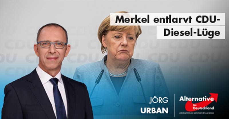 Merkel entlarvt CDU-Diesel-Lüge