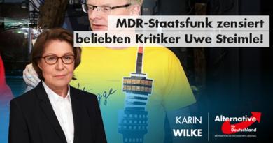 MDR-Staatsfunk zensiert beliebten Kritiker Uwe Steimle!