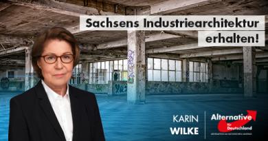 Sachsens Industriearchitektur erhalten!
