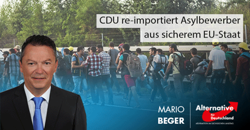 CDU re-importiert Asylbewerber aus sicherem EU-Staat
