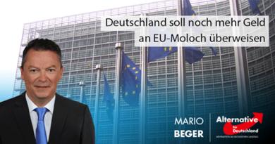 Deutschland soll noch mehr Geld an EU-Moloch überweisen