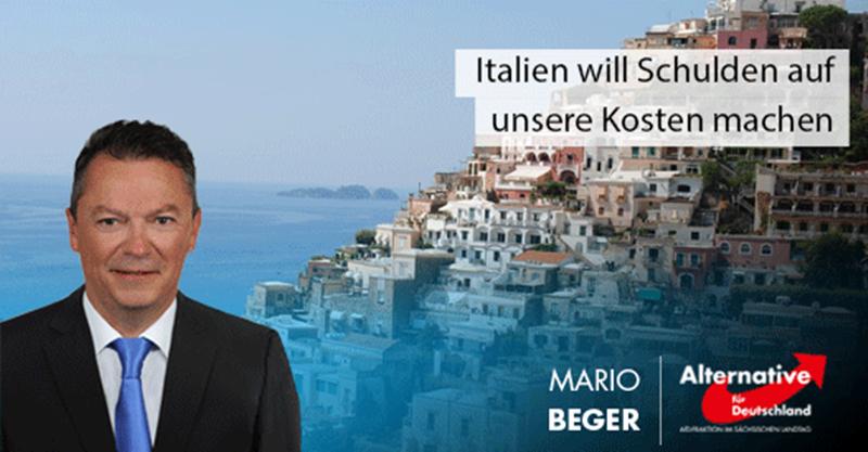 Italien will Schulden auf unsere Kosten machen