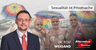 Sexualität ist Privatsache