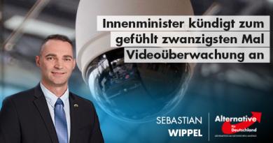 Innenminister kündigt zum gefühlt zwanzigsten Mal Videoüberwachung an