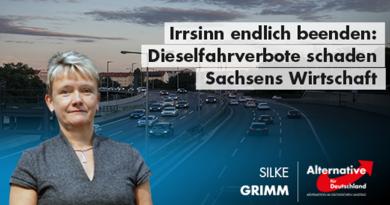 Irrsinn endlich beenden: Dieselfahrverbote schaden Sachsens Wirtschaft