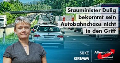 Stauminister Dulig bekommt sein Autobahnchaos nicht in den Griff