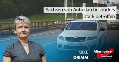 Sachsen von Autoklau besonders stark betroffen
