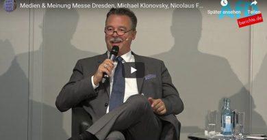 Medien & Meinung Messe Dresden, Michael Klonovsky, Nicolaus Fest, Kai Gniffke, Peter Frey