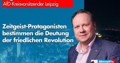 Droese: Zeitgeist-Protagonisten bestimmen die Deutung der friedlichen Revolution