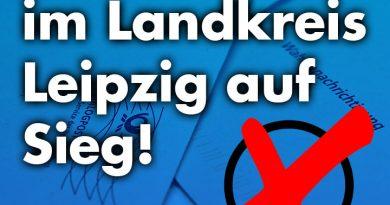 Die AfD setzt im Landkreis Leipzig auf Sieg