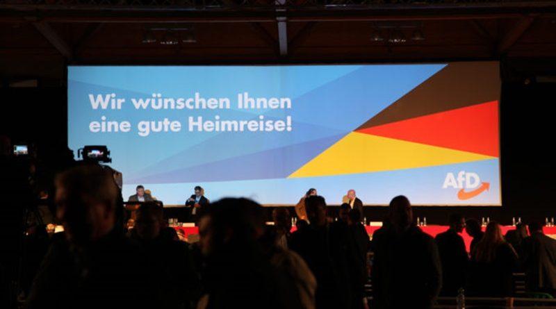 Die Europawahlversammlung der AfD in Magdeburg ist beendet
