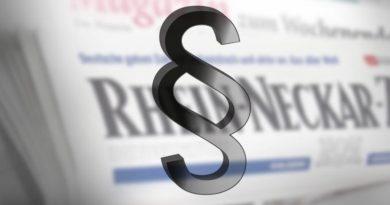 Rhein-Neckar-Zeitung unterliegt mit ihrer Klage gegen die AfD
