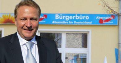 Anschlag auf AfD-Bürgerbüro in Falkensee