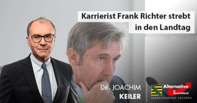Karrierist Frank Richter strebt in den Landtag