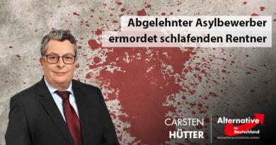 Abgelehnter Asylbewerber ermordet schlafenden Rentner