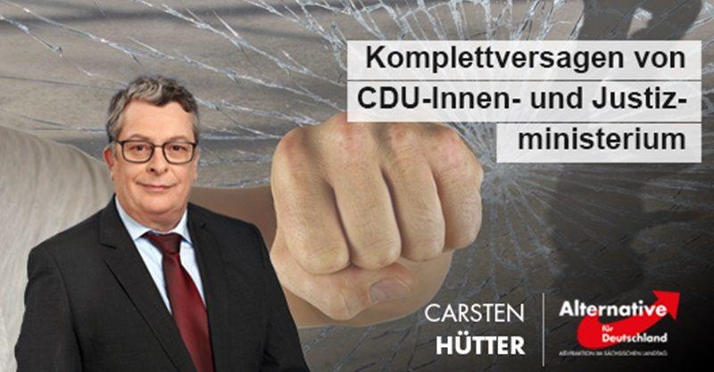 CDU-Innen- und Justizministerium des Komplettversagens überführt