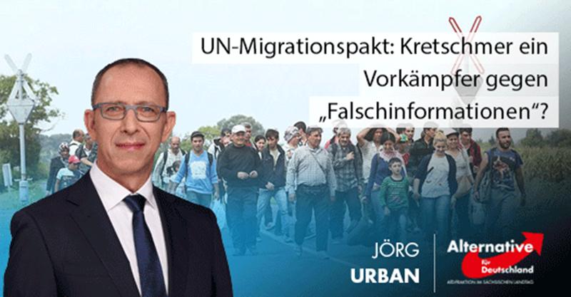 """UN-Migrationspakt: Kretschmer ein Vorkämpfer gegen """"Falschinformationen""""?"""