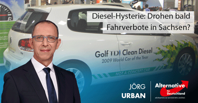 Diesel-Hysterie: Drohen bald auch Fahrverbote in Sachsen?