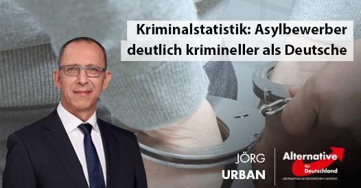 Kriminalstatistik: Asylbewerber deutlich krimineller als Deutsche