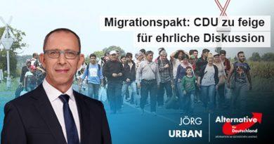 Migrationspakt: CDU zu feige für ehrliche Diskussion